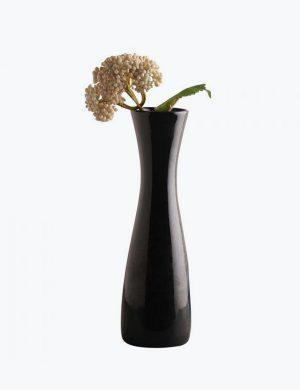 Decardo Black Ceramic Vase
