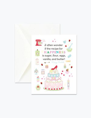 Greeting happy birthday card