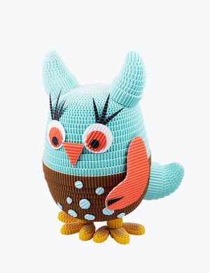 Owl handicraft paper toy