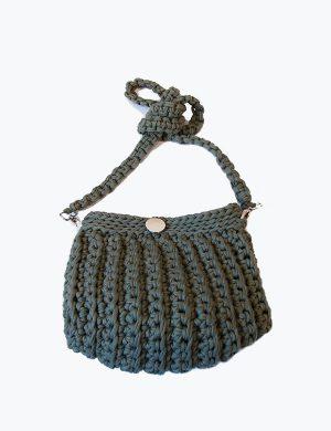 Straw knitting bag