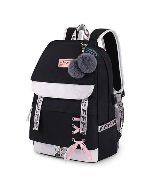 Asge Backpack for Girls Kids Schoolbag